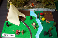 Native american houses project