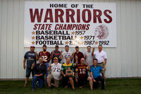 1987 Warrior FB State Championship Reunion Congrats Boys!